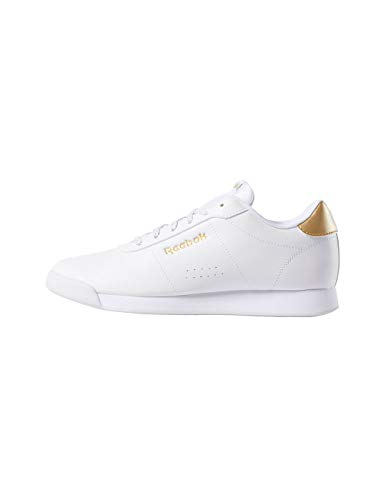 Reebok Royal Charm, Scape per Sport Indoor Donna, Bianco (White/Gold Metallic 000), 39 EU