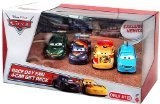 Disney Cars 4 Cars Set - Race Tag Fans - Migeul Camino, Nigel Gearsley, Max Schnell, Alloy Hemberger