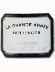 BOLLINGER Grande Année Magnum 1996, Champagne