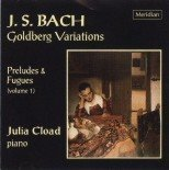 J S Bach - Goldberg Variations by Julia Cload