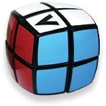 Cubo Magico V-CUBE 2 B (redondo) - negro - original Verdes 2x2x2 Speedcube