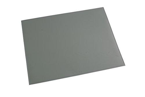 Läufer 40653 Durella Schreibtischunterlage, 52x65 cm, grau, Rutschfeste Schreibunterlage, 52 x 65 cm Rutschfestes