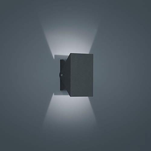 Helestra LED Downlight Free Graphit IP54 | LEDs fest verbaut 9W 810lm warmweiß | A18605.93
