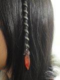 Accessoires de coiffure celtique médiévales orne de strass Swarovski + 2 planches de tatouages temporaire GRATUITES rajoutées automatiquement à votre colis. Extensions cheveux médiévales et celtique. Spirale celtique pour cheveux. TRESSE DECORATION CELTIQUE LONGUE CRISTAL. ORNEE D' 1 GRAND CRISTAL AMBRE ET DE 14 PETITS CRISTAUX COULEUR RUBIS & ROSE PALE. Notre Boutique : https://www.amazon.fr/s?ie=UTF8&me=AS43L7ZQKLNBO&page=1