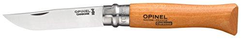 Opinel 623 - Coltello a serramanico tradizionale n. 9, lama in carbonio