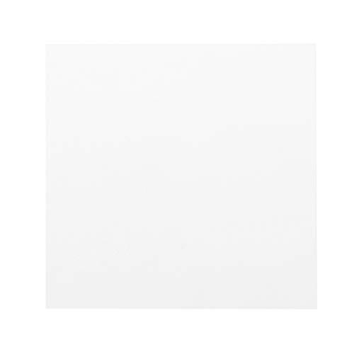 Ycncixwd Plexiglas-Board, Acryl-Blatt, 15 x 15 cm, zum Basteln von Spielzeug, Modellbau
