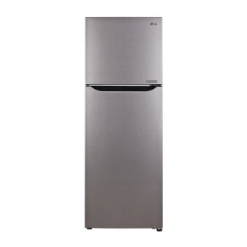 LG 255 L 2 Star Frost-Free Double Door Refrigerator (GL-Q282SDSR.EDSZEBN, Dazzle Steel)