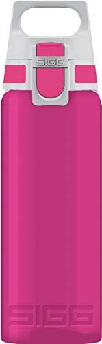 Sigg Total Color Berry Borraccia tritan (0,6 L), Borraccia ermetica e priva di Sostanze nocive, Leggerissima e Robusta Borraccia Design in tritan