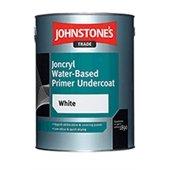 Johnstone'S Trade 2.5 Litre White Joncryl Water Based Primer Undercoat