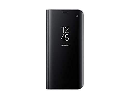 Samsung clear view, custodia protettiva con apertura a libro e funzione supporto per galaxy s8, nero