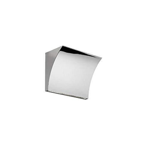 Flos - Applique murale Flos Pochette Up/Down LED - Chrome poli