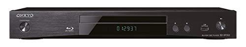 Onkyo BD-SP353(B) Blu-ray Disc-Player für Wiedergabe von Blueray, DVD und Audio-CDs, Surround Klang durch Dolby TrueHD, DTS-HD, hochauflösende Videosignale in 1080p, HDMI/USB Anschluss, Schwarz