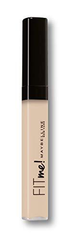 Maybelline New-York - Anti-cernes Correcteur Fluide Fit Me Matte & Poreless - Tous Types de Peaux - 10 Light - 6,8 ml
