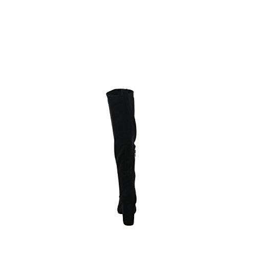 SPM Damen Bendle Highboot-Unlined Reitstiefel Schwarz (Black)