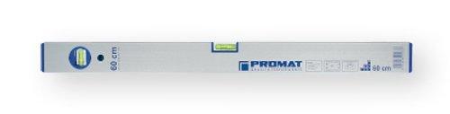 PROMAT 857170 Wasserwaage Alu. L.200cm 0,5mm/m genau m.2Libellen PROMAT silberf.elox.