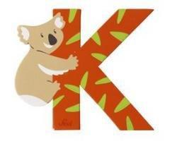 Sevi Alphabet Buchstaben Graffiti Animal, Buchstabe Koala K