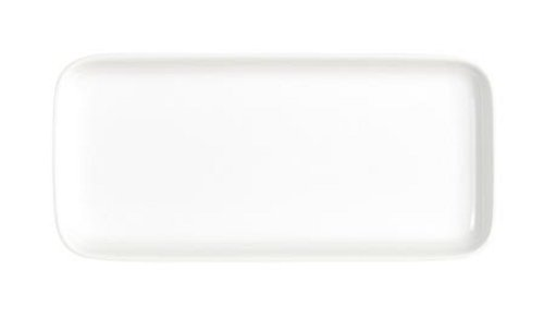 Kahla - Porcelaine pour les Sens 207745A90020C Abra Cadabra Plateau Rectangulaire Blanc 1,5 cm