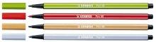 Preisvergleich Produktbild Fasermaler Stabilo-Pen 6895 mittelgrau, Liefermenge = 10
