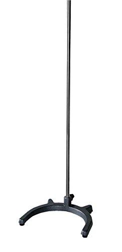 Stativ mit Standfuß U-Form ca. 34x29cm, Stange 80cm für Schwerlasten für Laborapparate und -anwendungen