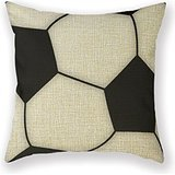 Customized Standard New Arrival Pillowcase Sbbw Soccer Design Child Grammer School Throw Pillow 18 X 18 Square Cotton Linen Pillowcase Cover Cushion