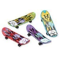 Zahnkönige | Finger-Skateboard | in verschiedenen Farben | Kinder Skateboard Fahrzeug | 48 Stück | Größe 10 cm