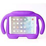 iPad Mini Schutzhülle, iPad Mini 1/2/3/4Fall, ubearkk Kinder stoßfest freistehend Licht Gewicht Super Schutz Griff Schutzhülle mit Ständer für Apple iPad Mini/Mini 2/Mini 3/Mini 4 Violett Violett