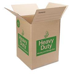 Heavy Duty Box, 18x18x24, 6/PK, Brown, Sold as 1 Package