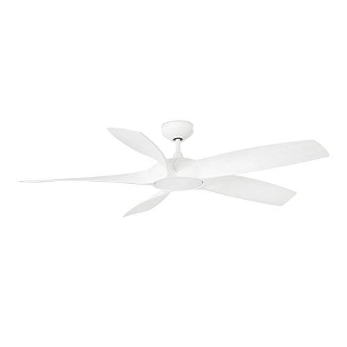 Faro 33548 Ventilatore per Soffitto con LED, Bianco