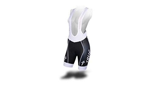 Womens Cycling Bib (TRUÉ cycling Ladies' Premier Bib Shorts, M)