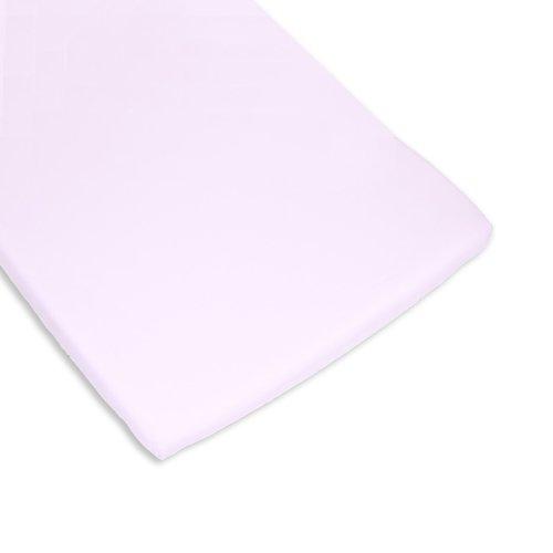 BOLIN BOLON 1623803013200 - Coprimaterasso per culla, 100% cotone, colore: Rosa