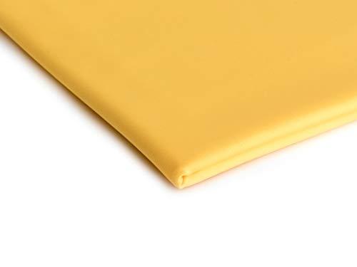 Orient Fashion HOCHELASTISCH Lycra Sport Stoff FLEXIBEL IN ALLE RICHTUNGEN 50 X 150 cm (Gelb)