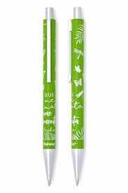 Bolígrafo Frida verde lo que no me mata