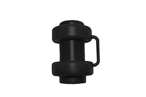 8 Stück Schwarz Kappen für Innenliegendes Sicherheitsnetz Stangen Ø 25 mm Ersatzteil