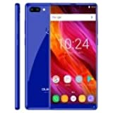 Rishil World [HK Stock] OUKITEL Mix 2, 6GB+64GB, Dual Back Cameras, Fingerprint Identification, 5.99 Inch Android 7.0 MTK6757/Helio P25 Octa Core Up To 2.39GHz, Network: 4G, Dual SIM, OTG(Black)