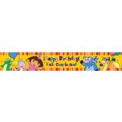 Dora the Explorer 5yard Banner