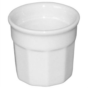 12X Olympia Dipping Pots 45X50mm Porcelain White Sauce Dish