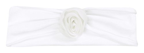 Döll Baby Mädchen Stirnband Special Edition Taufe, Weiß (Bright 1000), 43