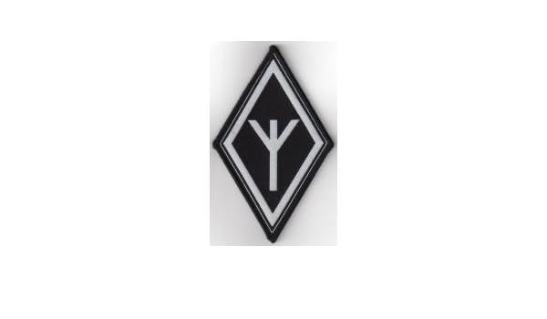 Sig Rune/?/brod/ée Patch 8/x 8/cm