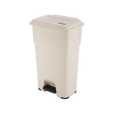 vileda-234916-abfalleimer-mit-pedal-hera-60l-beige