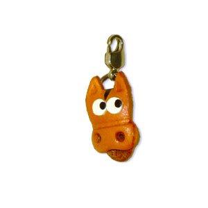 Leder, mit Schlüsselanhänger, handgefertigt in Japan ()