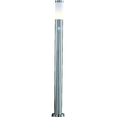 LED Edelstahl Steh Leuchte Stand Lampe Außen Beleuchtung IP44 Bewegungsmelder Globo 3159SLED