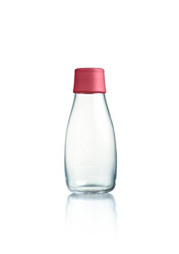 Retap Wasser Flasche 03mit Deckel violett, Raspberry