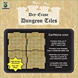 Earthtone-set (Role 4 Initiative Dry Erase Dungeon Tiles Earthtone Set of 36 Five-inch Interlocking Squares for Role-Playing and Miniature Tabletop Games)