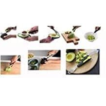 Gourmet Avocado Tool 5-in-1 (Slice, Cut, Pit, Mash
