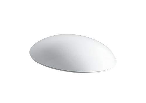 Alessi, Laufen Alessi One WC Sitz weiß Toilettendeckel mit Absenkautomatik, 89297100000