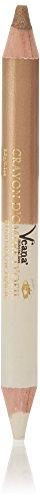 Veana Mineral Line 2in1 Lidliner - Shimmer Gold & Frosted Peach, 1er Pack (1 x 3 g) -