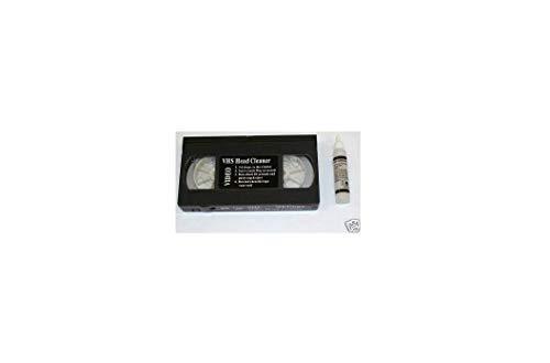 k1- Neue S/VHS Video Head Cleaner + Flüssigkeit VHS/PAL/SECAM