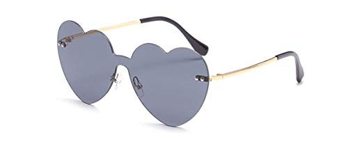 Lisay Herz Form Sonnenbrille Cool Mädchen/Jungen Autofahren Reise Dekogläser Trend Sommer Strand Outdoor