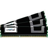 Crucial 12GB kit (4GBx3) DDR3 PC3-12800 12GB DDR3 1600MHz ECC memory module - memory modules (DDR3, 240-pin DIMM, 512M x 72, 3 x 4 GB)
