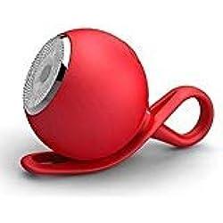 Enceinte Bluetooth étanche - Mini Haut-Parleur de Sport Portable sans Fil avec Fonction FM, Support de Carte TF, entrée AUX 3,5 mm, portée Bluetooth de 33 m pour Sports de Plein air, Voyage, vélo